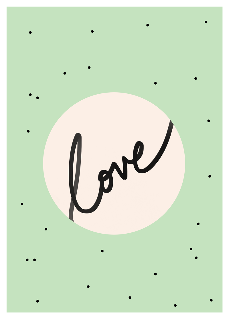 MINT LOVE TYPE PRINT FREE DOWNLOAD