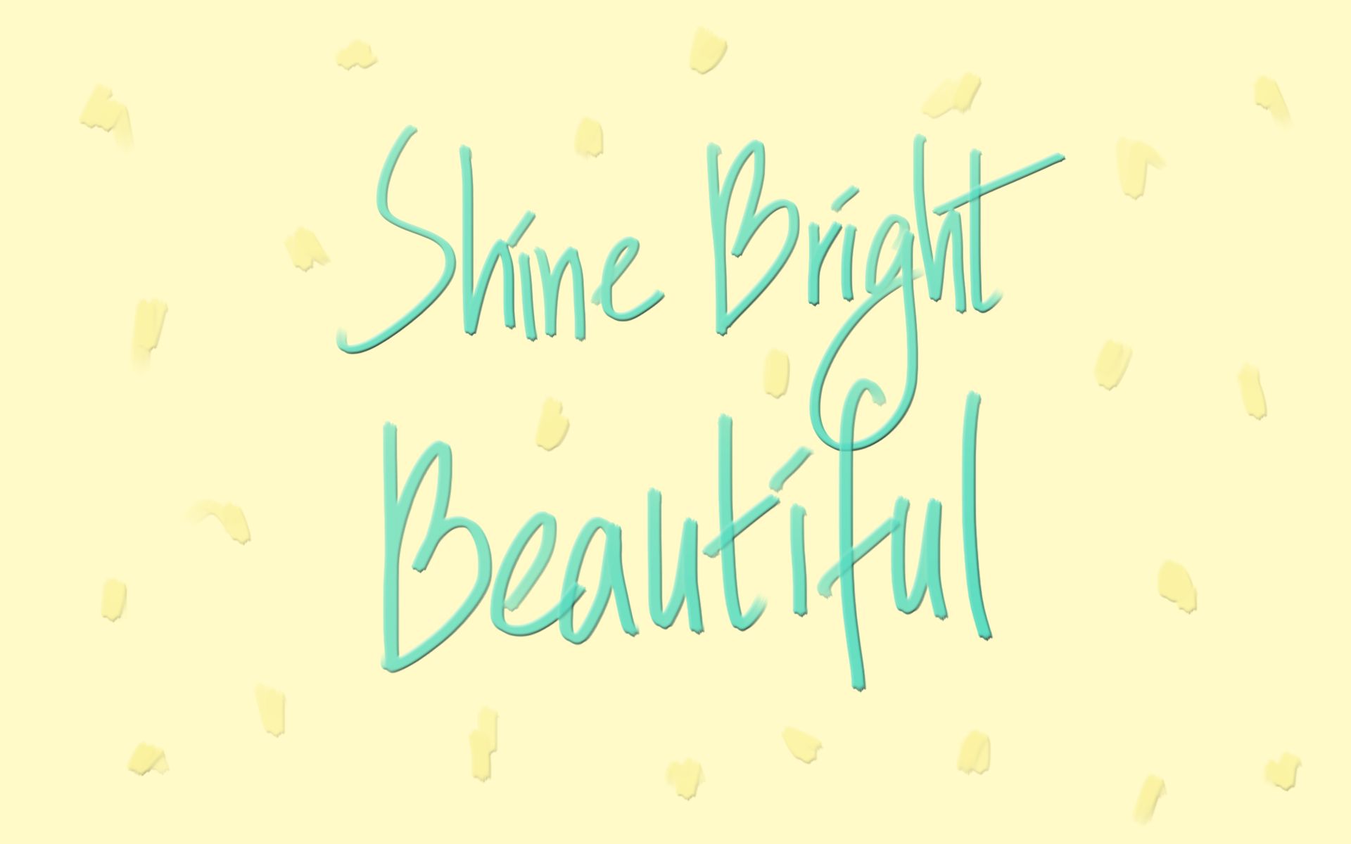 free desktop wallpaper-shine bright beautiful - inkstruck studio