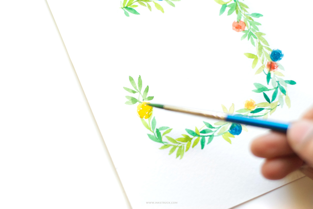 This watercolor flower wreath tutorial will show you how to paint wreaths in different shapes.Step by instructions with photos provided for easy learning.