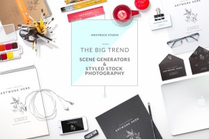 Get to know about styled stock photography and scene generators in this blog post by Inkstruck Studio.