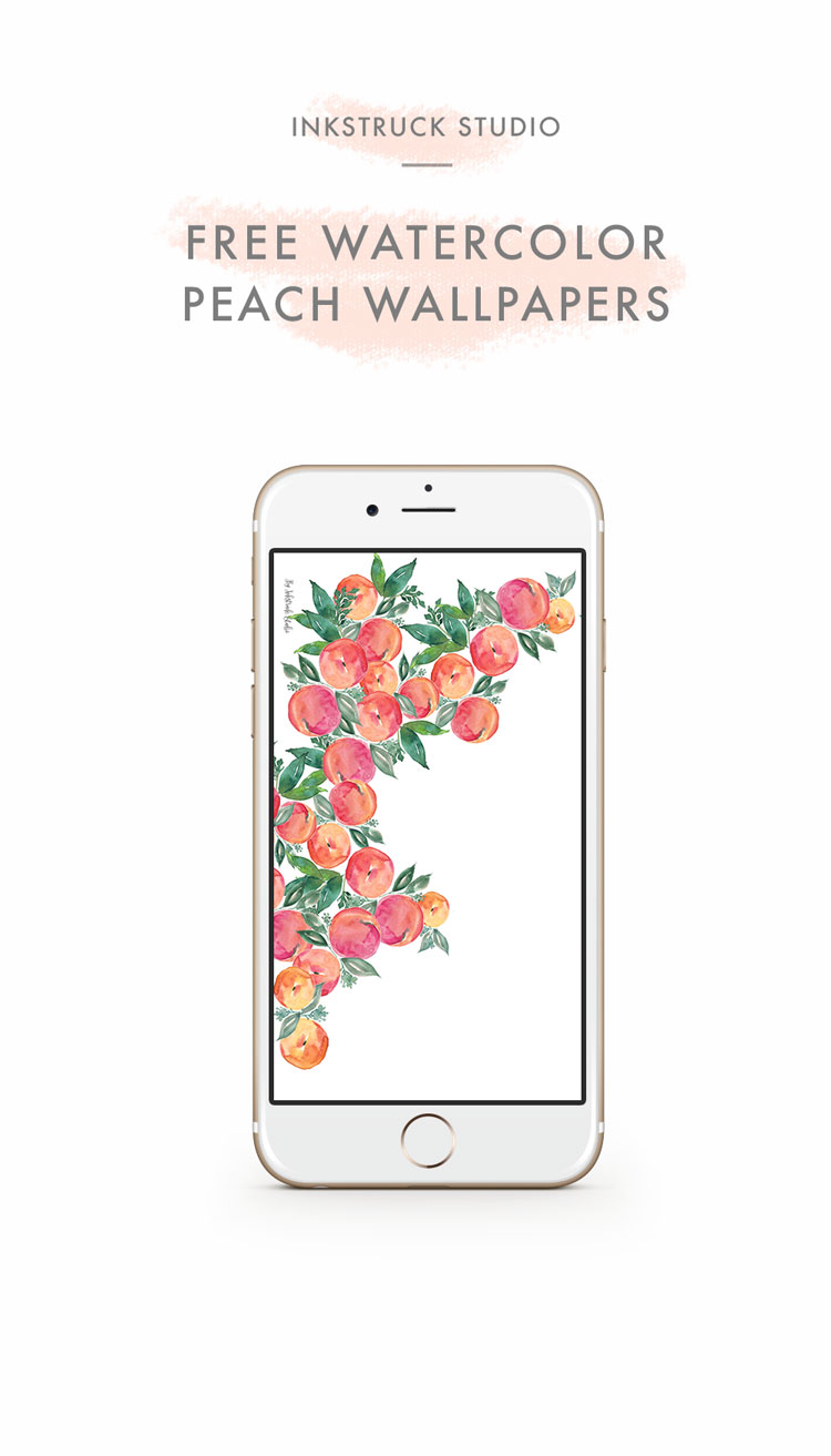free-watercolor-peach-wallpaper-2