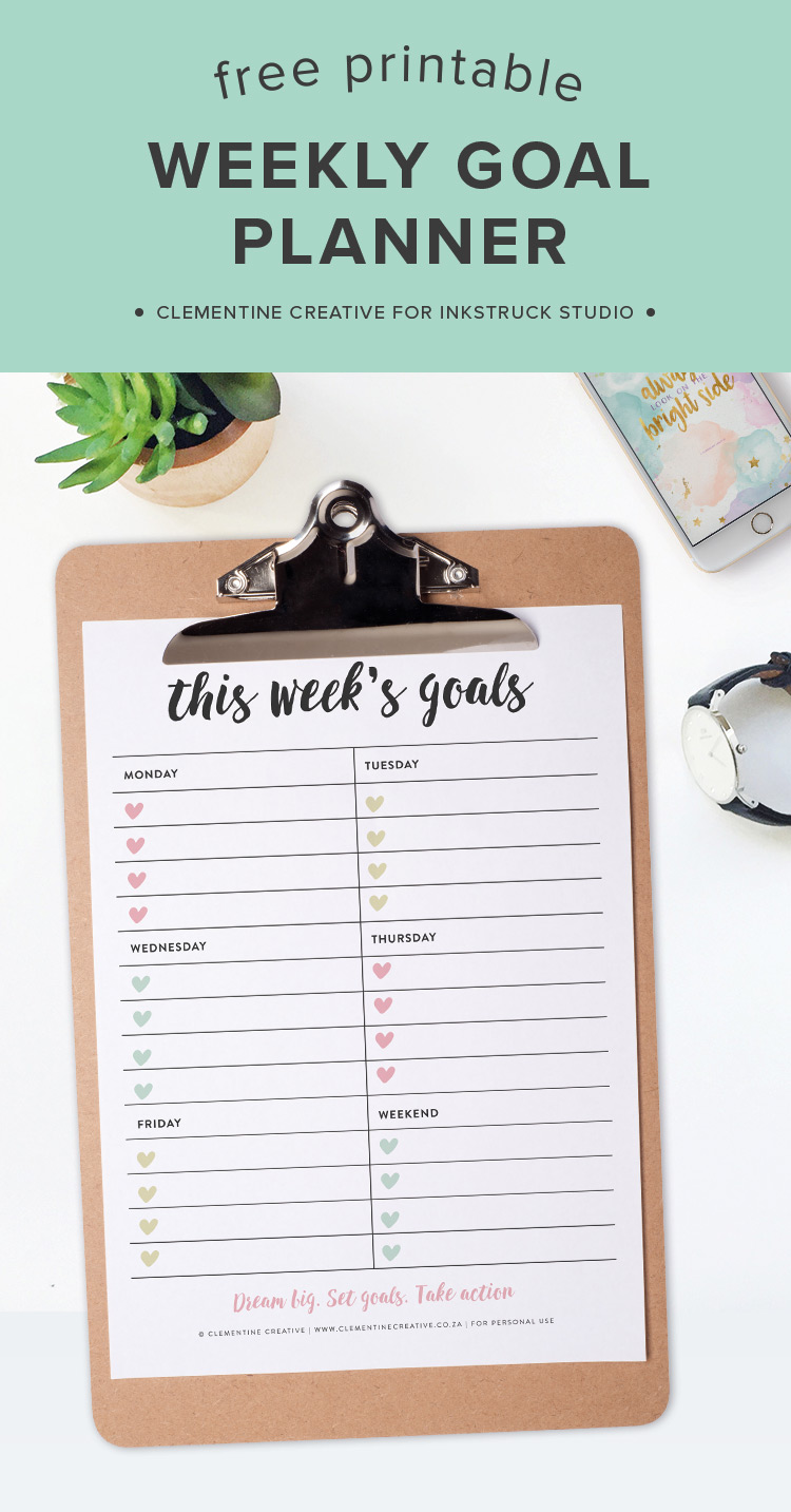Free Printable - Daily Health Planner Page | tortagialla