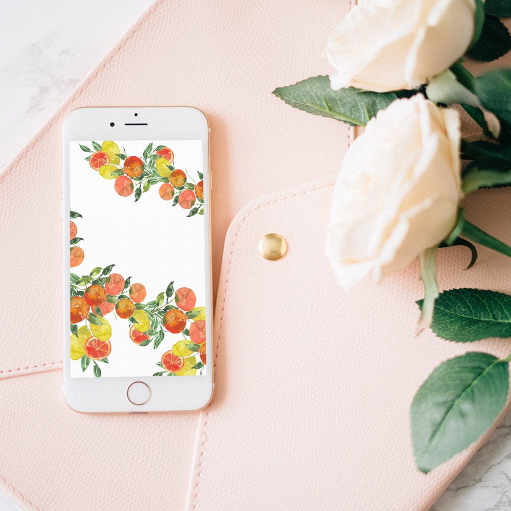 Grab my free 2018 April watercolor wallpapers on the blog now with both dated and undated versions for phones and desktops. - Inkstruck Studio